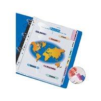 AVERY Funda Con pestañas personalizables A4 12 posiciones 0562450, (10 u.)