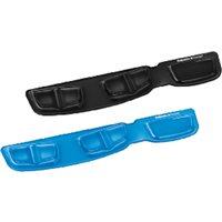 FELLOWES Reposamuñecas para teclado de gel con canal ergonómico Health-V azul 9183101, (1 u.)