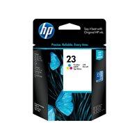 HP Cartuchos Inyeccion 23 Tricolor C1823D, (1 u.)