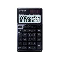 CASIO Calculadoras SL-1000TW 10 digitos Solar y pila SL-1000TW BK, (1 u.)