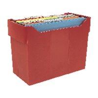 LEITZ Archivador carpetas colgantes 20 ud A4 365x170x260mm Rojo 2007RJ, (1 u.)