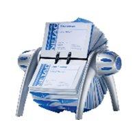DURABLE Archivo rotativo Flip Vegas plástico 200 fundas 72 x 104mm 826648, (1 u.)