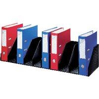 PAPERFLOW Clasificador 9 casillas fijas 802x290x210cm Negro 4944.01, (1 u.)