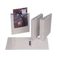 ESSELTE Carpeta anillas Gama plus A4 2-40 MM Blanco BL1450, (10 u.)