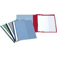 ESSELTE Dossier Caja 50 ud A4 Pvc Con Fastener Verde 12605, (1 u.)