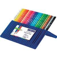 STAEDTLER Estuche lapices ergosoft Colores surtidos 12 Ud 157 SB12-I, (1 u.)