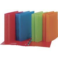 PARDO Carpeta anillas Studio Compacta A4 4-25MM Rojo Polipropileno 852502, (12 u.)
