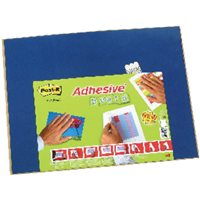 POST-IT Tablero Adhesivo 46x58,5 cm Azul 70005246031, (1 u.)