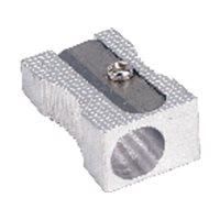 5 STAR Afilalapiz Pack 5 ud Simple Hasta 8mm diametro Metal 0059700, (1 u.)