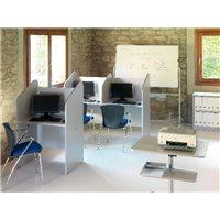ROCADA Call Center Alumino-Gris Individual 84x65x132 cm  5501AB02, (1 u.)