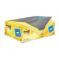 POST-IT Pack.16+4 bloc 76x127 am, (1 u.)