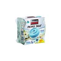 RUBSON Aero 360x1 recargas 450g tableta 2 en 1 absorbe humedad y neutraliza malos olores 1898051, (1 u.)