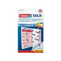 TESA Puntos adhesivos tesa® tack transparentes xl, 36 uds. 594040000000, (20 u.)