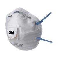 3M Mascarillas de Proteccion 10 ud FFP2 Con valvula GT500075202, (1 u.)
