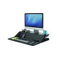 FELLOWES Estación de trabajo Sit & Stand Lotus 16 kg negro 0007901, (1 u.)