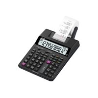 CASIO Calculadora Impresora 12 Digitos HR-150RCE-WA-EC, (1 u.)