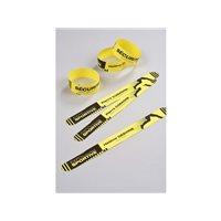 AVERY C.48 pulsera amarill.tu mismo puedes personalizar,resiste al agua,suciedad,etc,265x25mm L4900Y, (1 u.)