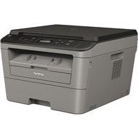 BROTHER Impresora multifunción laser monocromo 2400 x 600 ppp/26ppm/Gris DCPL2500D, (1 u.)