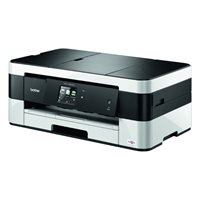 BROTHER Impresora multifunción de tinta A3/6000 x 1200 ppp/20ppm/negra-blanca MFCJ4420DW, (1 u.)