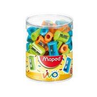 MAPED Afilalapiz Simple Colores surtidos Plastico 506300, (75 u.)