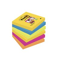 POST-IT Notas adhesivas Rio Janeiro Pack 6 blocs 76x76mm 70005250264, (1 u.)