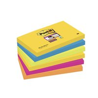 POST-IT Notas adhesivas Rio Janeiro Pack 6 blocs 76x127mm 70005251320, (1 u.)